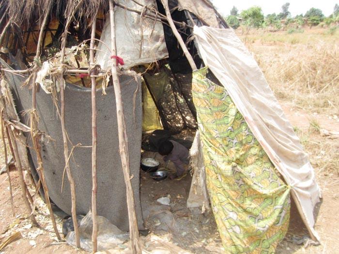 Les familles Batwa de Zege vivent dans des conditions déplorables ©Iwacu