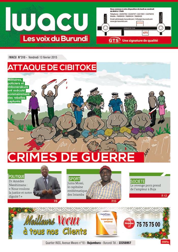 IWACU Hebdomadaire n°310