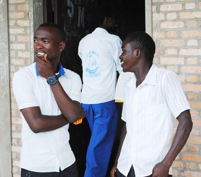 Elèves de la 8ème fondamentale au lycée communal de Gatumba ©Iwacu