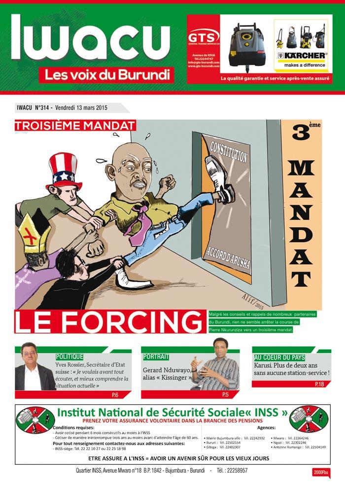 IWACU Hebdomadaire n°314