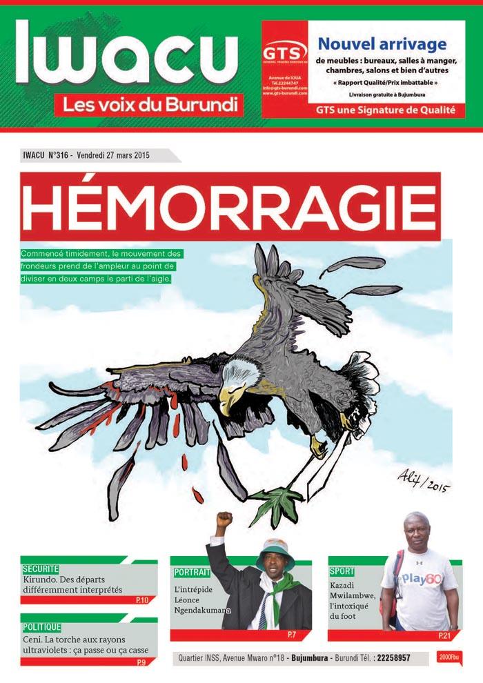 IWACU Hebdomadaire n°316