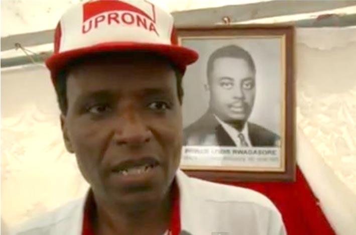 Gérard Nduwayo ©Iwacu