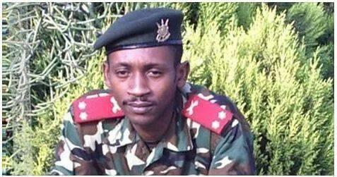 Le Capitaine Evariste Nkuyehasi