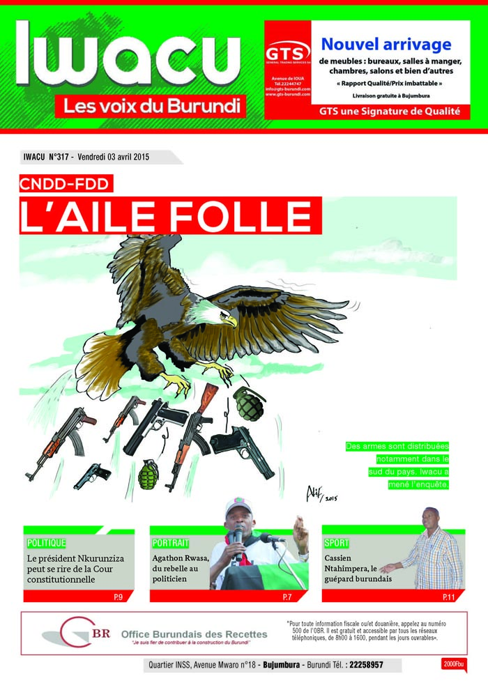 IWACU Hebdomadaire n°317
