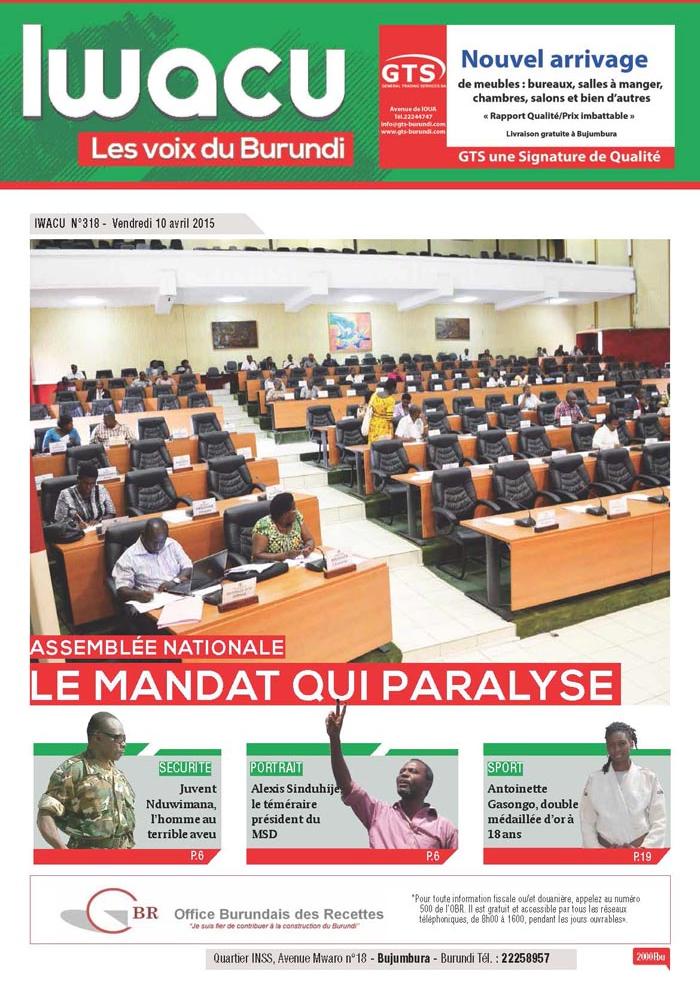 IWACU Hebdomadaire n°318