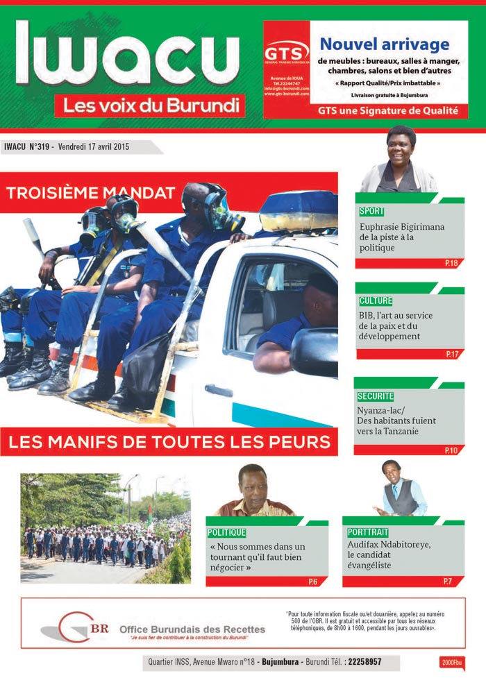 IWACU Hebdomadaire n°319