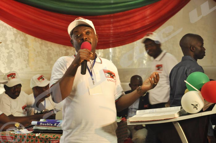 Le candidat Nkurunziza : « Maintenant je suis  votre candidat à 700% » ©Iwacu