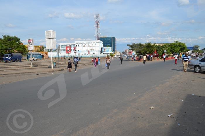 Pas d'activités au centre ville ©Iwacu