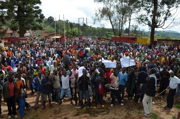 Les manifestations jusqu'ici cantonnées dans la capitale gagnent l'intérieur du pays.