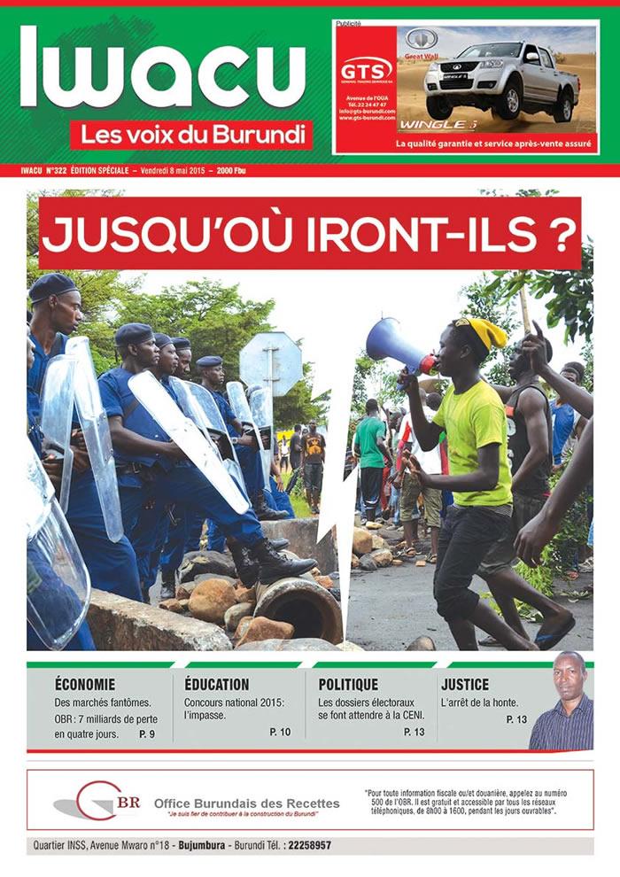 IWACU Hebdomadaire n°322