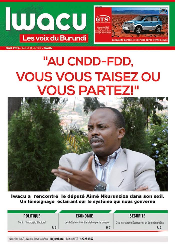 IWACU Hebdomadaire n°326