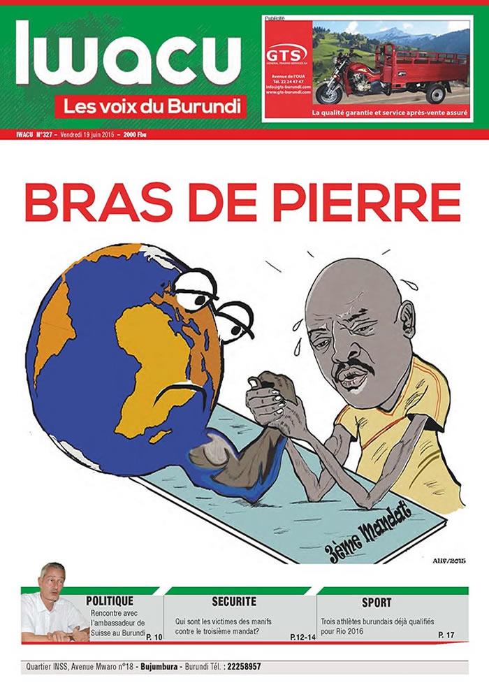 IWACU Hebdomadaire n°327