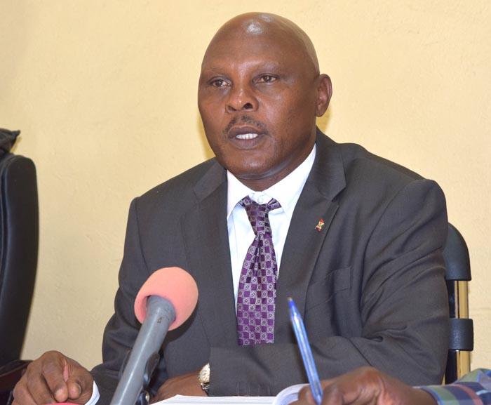 Adolphe Rukenkanya, ministre de la Jeunesse, des Sports et de la Culture