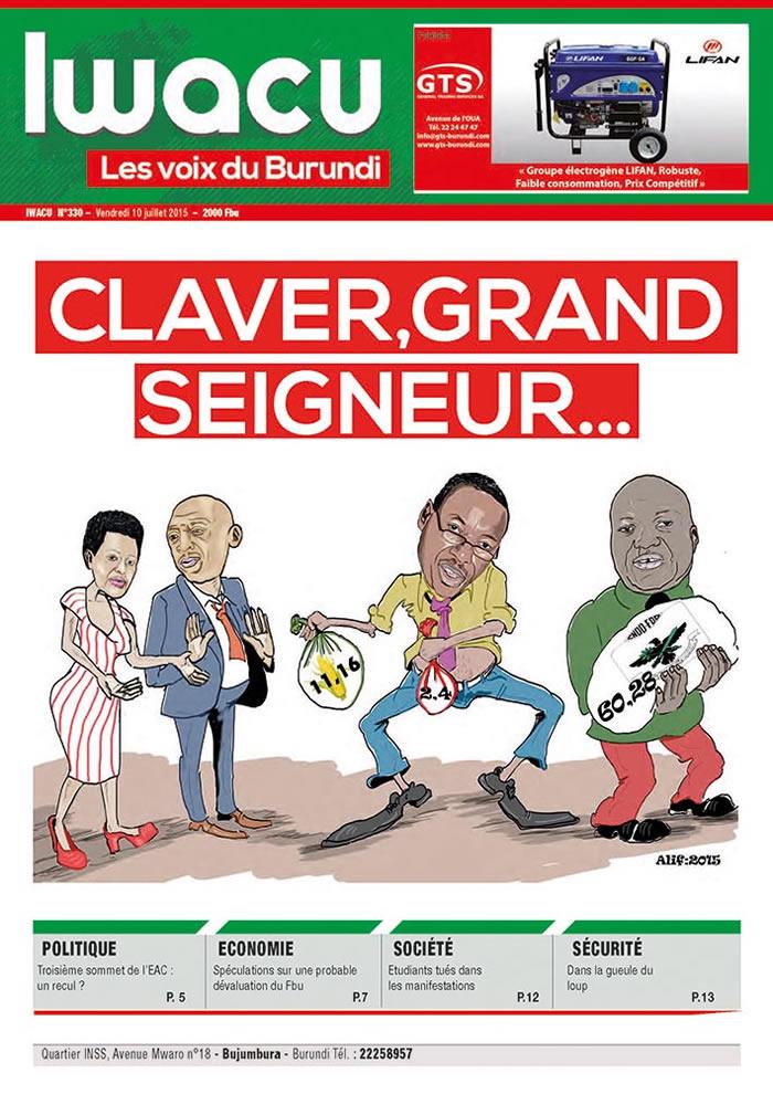 IWACU Hebdomadaire n°330