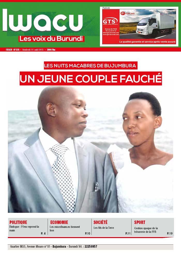 IWACU Hebdomadaire n°335