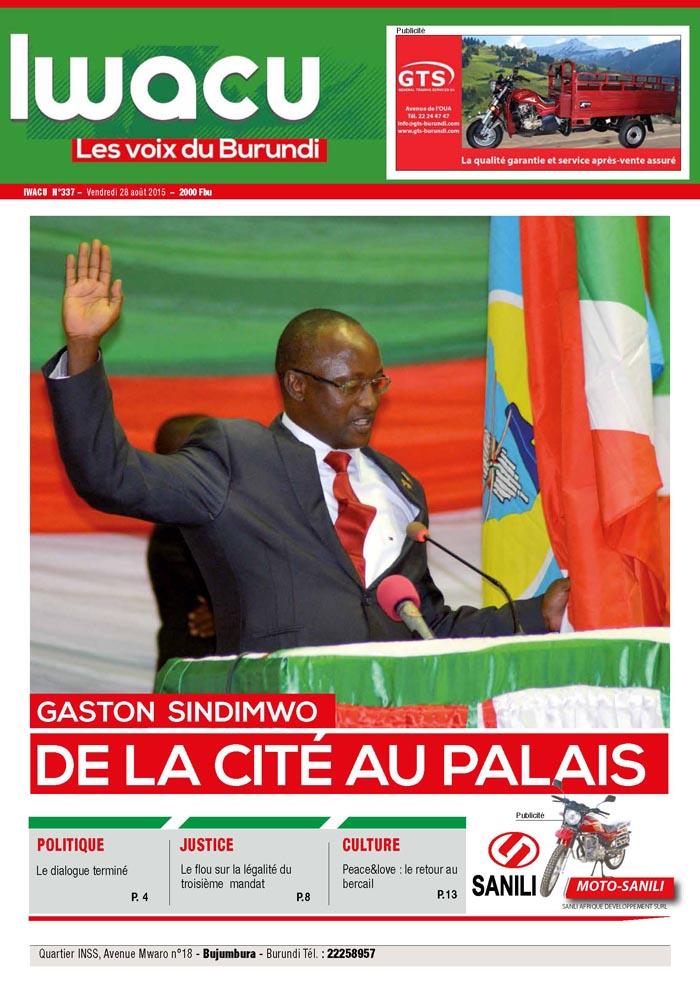 IWACU Hebdomadaire n°337
