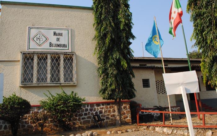 Les locaux des bureaux de la mairie de Bujumbura