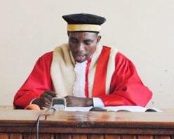 Charles Ndagijimana, le président de la Cour Constitutionnelle