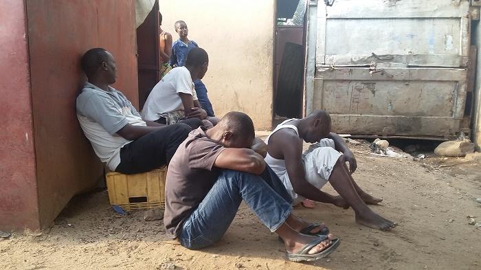 Quelques uns des jeunes arrêtés à Jabe et Nyakabiga