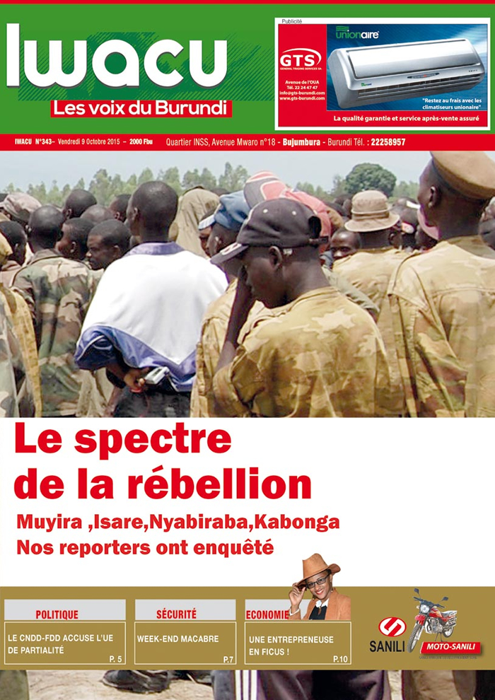 IWACU Hebdomadaire n°343