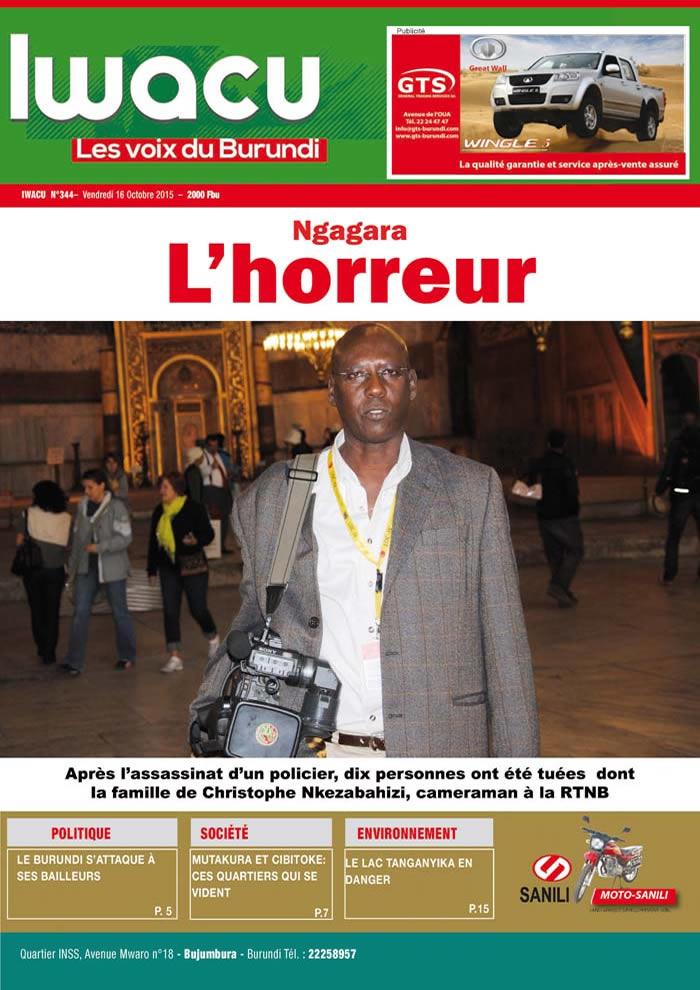 IWACU Hebdomadaire n°344