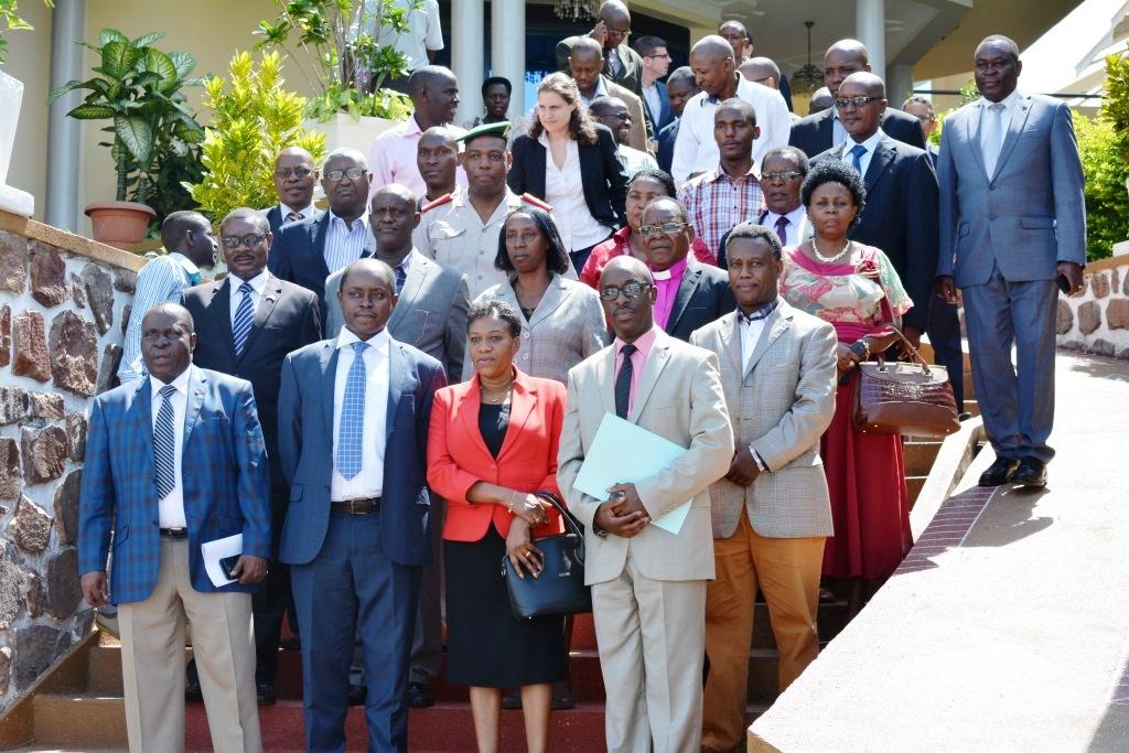 Photo des participants à l'ouverture de cet atelier