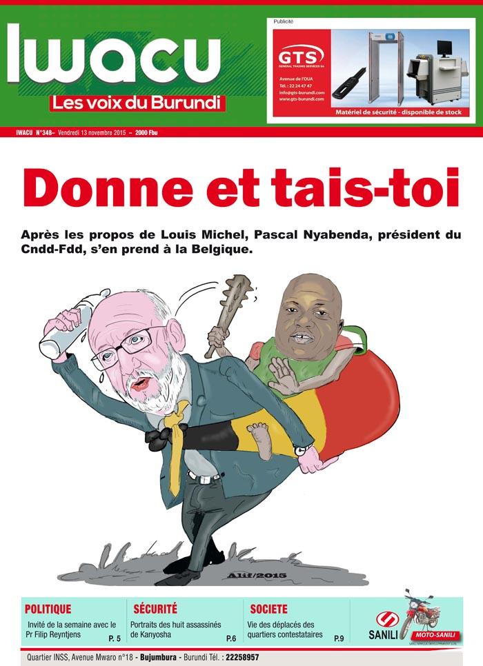 IWACU Hebdomadaire n°348