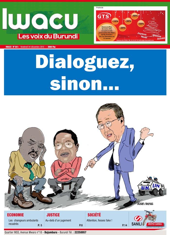 IWACU Hebdomadaire n°351