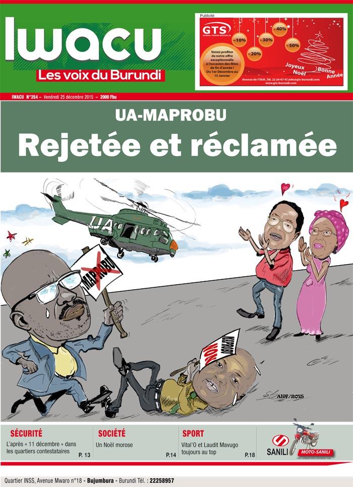 IWACU Hebdomadaire n°354