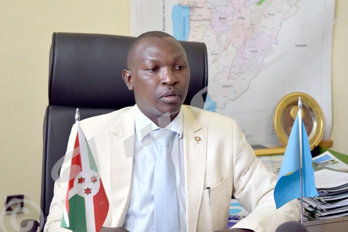 Pascal Barandagiye, ministre de l'Intérieur