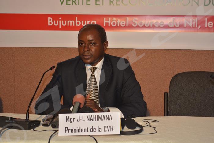 Mgr Jean-Louis Nahimana:«Au nom de la solidarité internationale, aidez-nous»