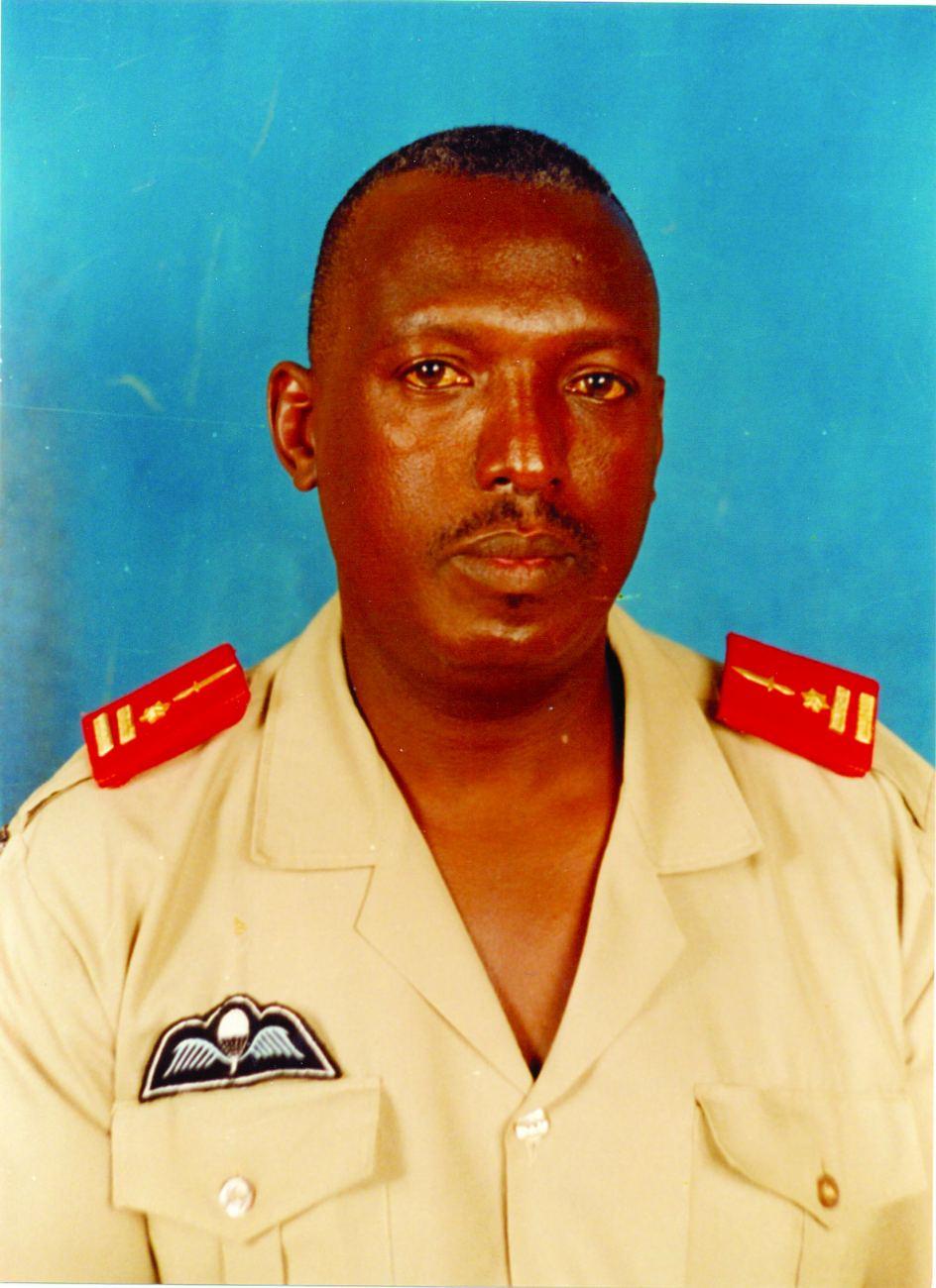 Le Général de Brigade Athanase Kararuza assassiné devant le lycée du Saint Esprit.