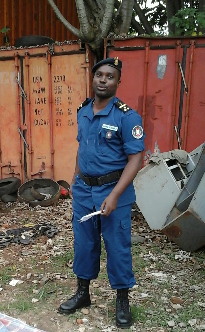 Pierre Nkurikiye : «Aucun corps de sécurité n'est impliqué dans cette affaire. »