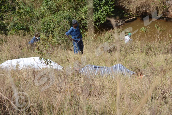 Les deux corps de la rivière Mubarazi ont été inhumés sans être identifiés formellement.
