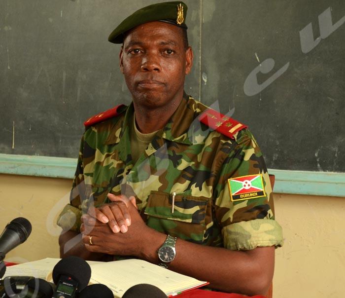 Colonel Gaspard Baratuza
