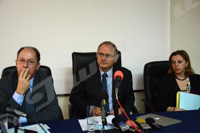 Les experts se sont rendus au Burundi du 1 au 8 mars et du 13 au 17 juin 2016