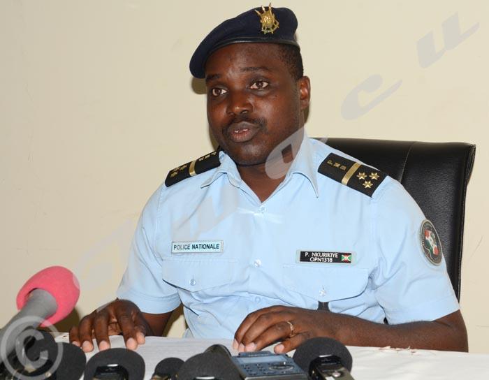 Pierre Nkurikiye : « Une enquête est diligentée pour comprendre ce phénomène, mais il n'y a aucun lien avec la police. »