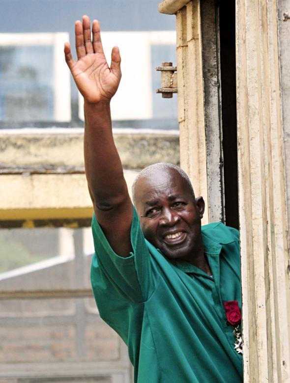 Pierre-Claver Mbonimpa se dit plus que jamais déterminé à œuvrer pour le retour de la paix au Burundi © Teddy Mazina