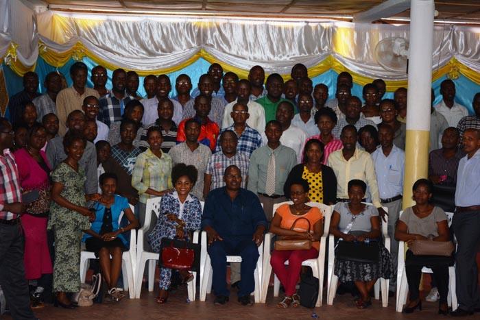 Photo des participants à cette formation.