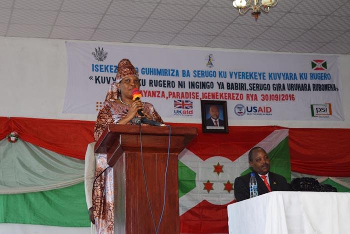 La première dame : « le planning familial est le pilier du développement durable »