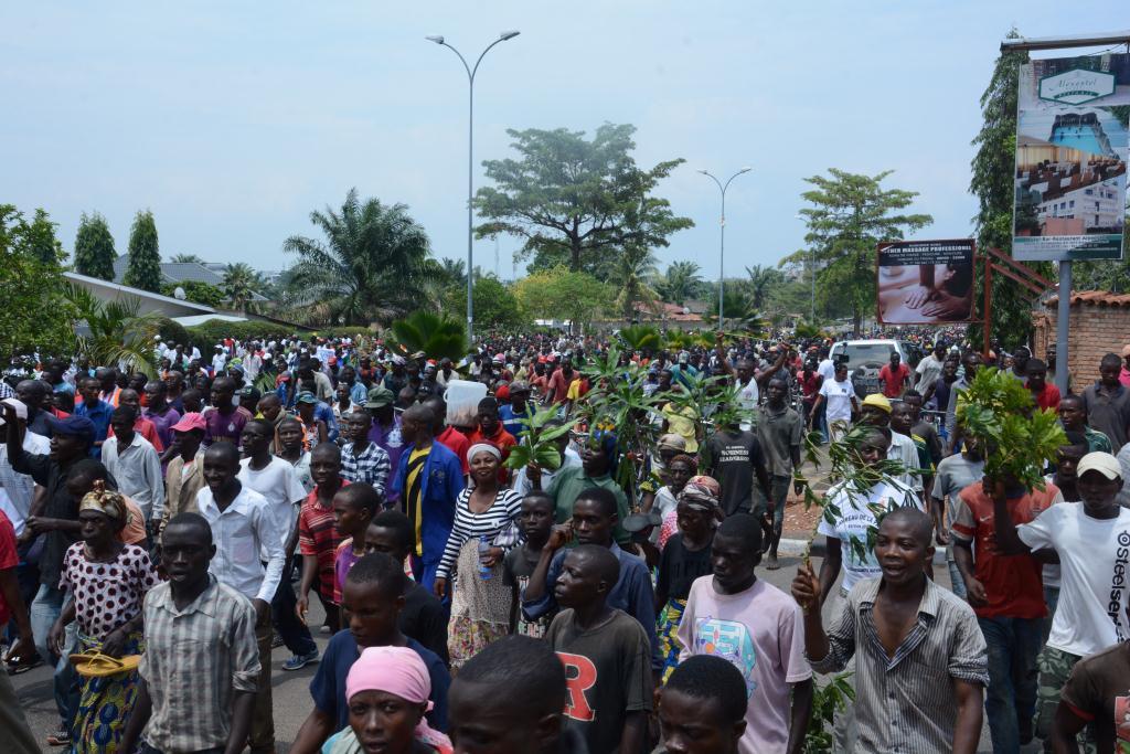 Plus de 5.000 manifestants sont descendus dans la rue