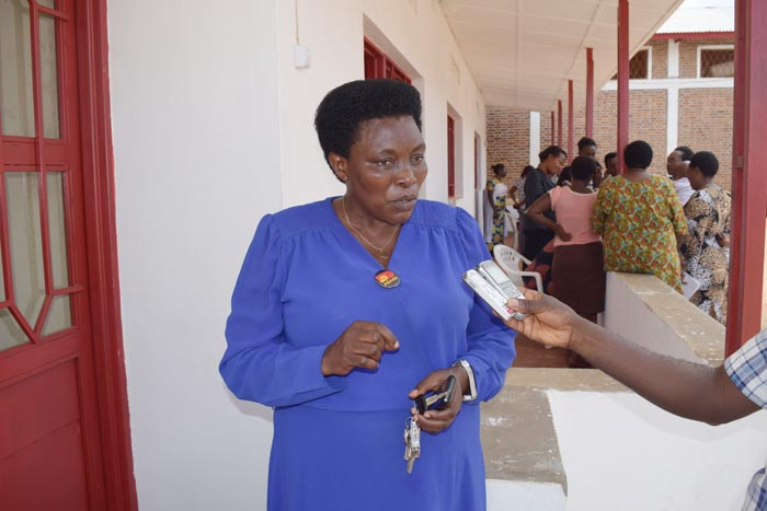 Pour Béatrice Ndayishimiye, le plus important est que le 109  est, non seulement gratuit, mais surtout confidentiel.
