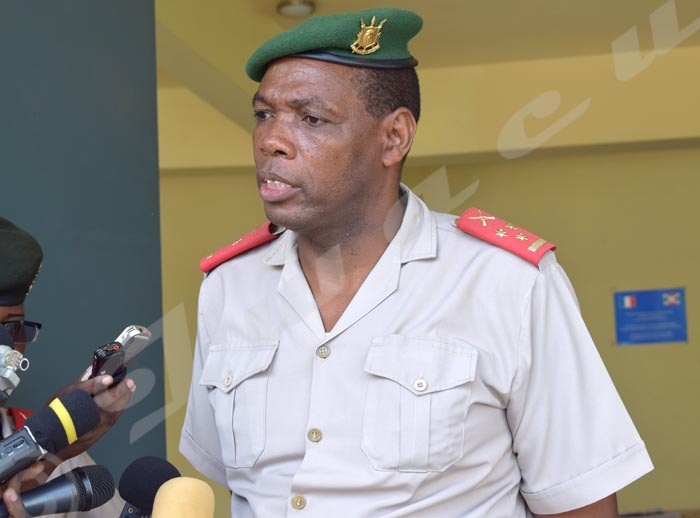 Colonel Gaspard Baratuza : « Ceux qui répandent ces informations ont des visées non avouées de saboter l'amitié qui caractérise nos deux armées. »