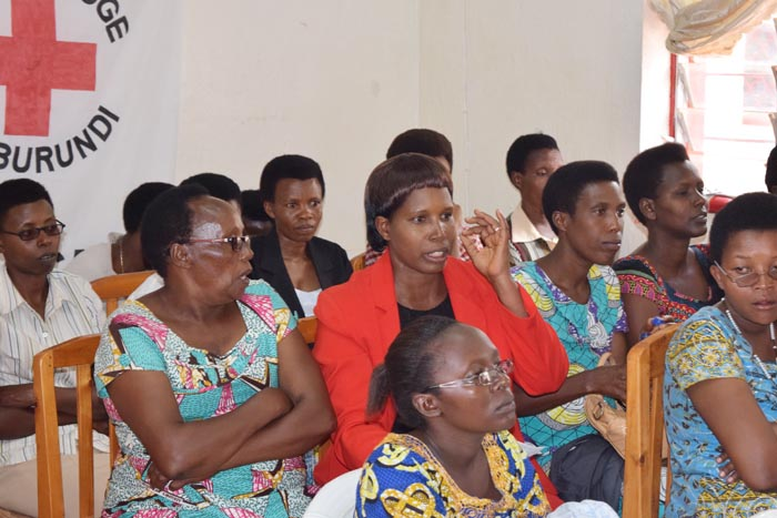 Certaines participantes ont même donné des propositions intéressantes.
