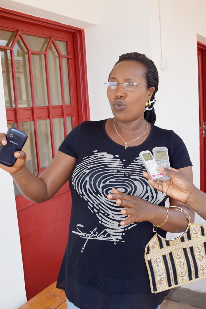 Pascaline Bukuru : « Le numéro 109 vient à temps dans cette province de Makamba. »