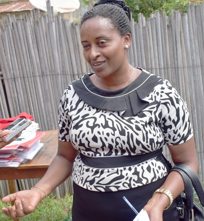 Seconde Nininahazwe : « Je fais tout pour faire connaitre autant que possible le 109 autour de moi. »