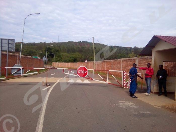 La frontière de Ruhwa accueille peu de passagers.