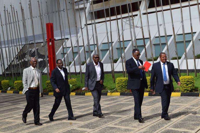 Les politiciens burundais à Arusha, en Tanzanie