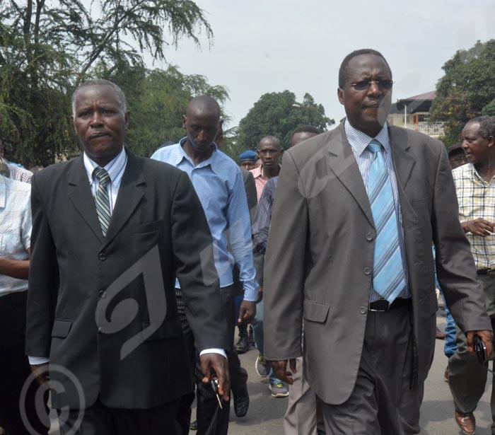 Evariste Ngayimpenda et Charles Nditije, avant que tout ne bascule