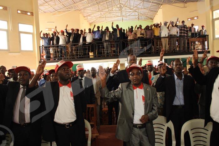 Le congrès du parti Uprona de 2014